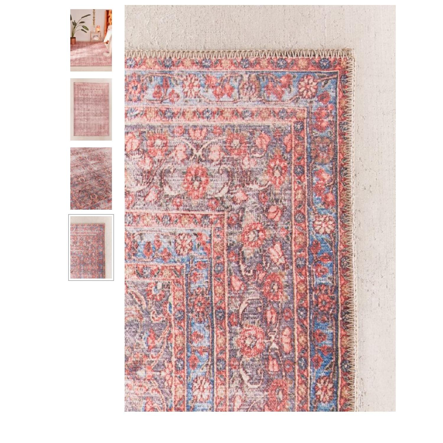 Urban Outfitters Mable Printed Rug - image-1