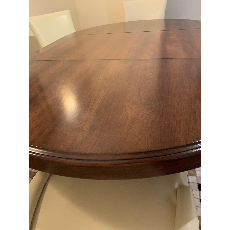 Bausman Round Dining Table w/ Leaf - image-2