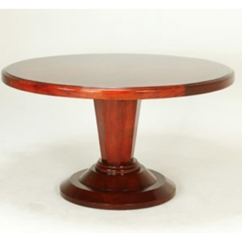 Bausman Round Dining Table w/ Leaf - image-4