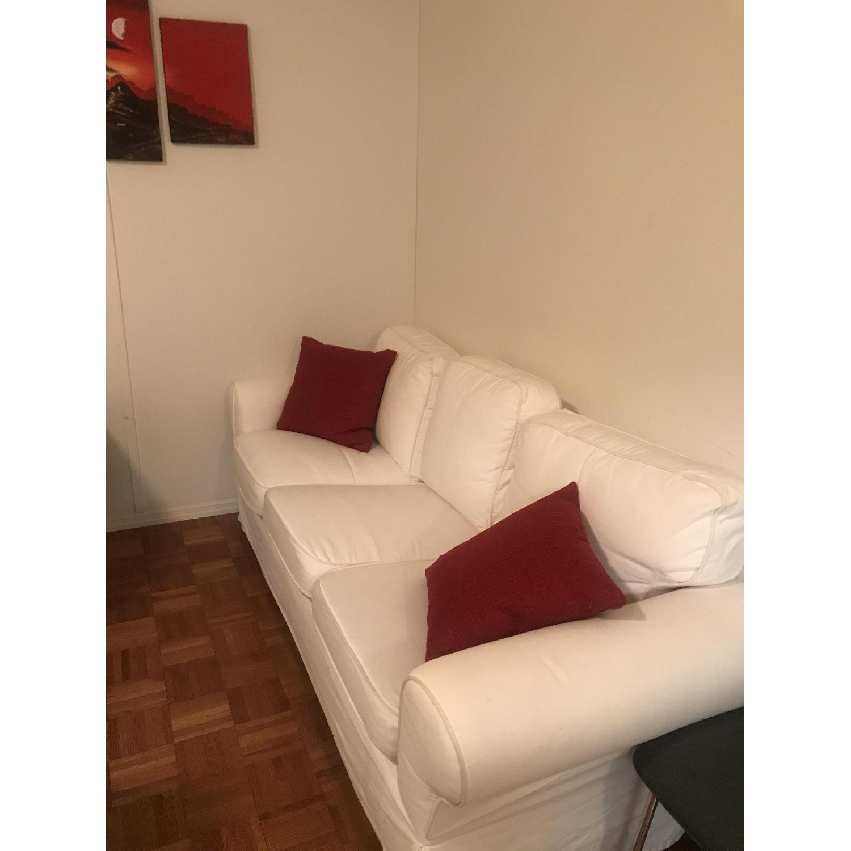 Ikea Ektorp White Sofa - image-2