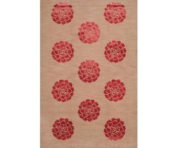 Martha Stewart Medallions Garnet Area Rug