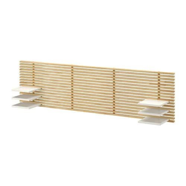 Ikea Mandal Headboard in Birch/White