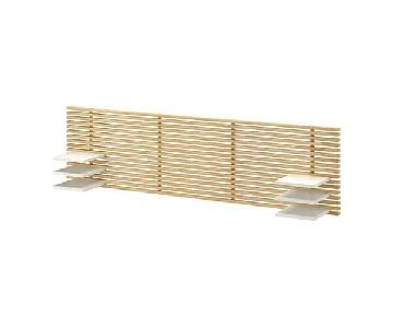 Ikea Mandal Headboard in Birch/White