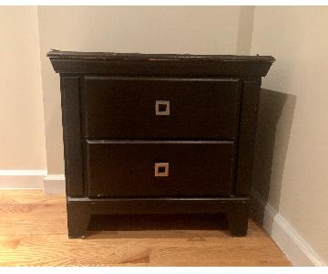Progressive Furniture Vintage Style 2-Drawer Nightstand