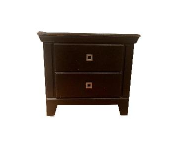 Progressive Furniture Vintage Style 2-Drawer Nightstand