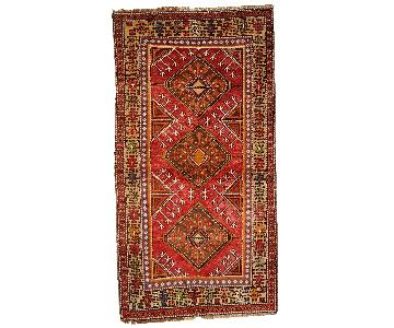 Antique Handmade Turkish Anatolian Rug