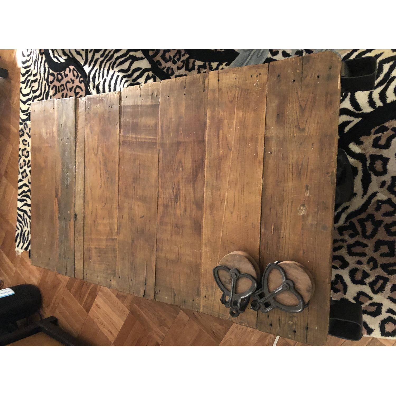 Jordans Vintage-Inspired Rustic Mine Cart Coffee Table - image-4