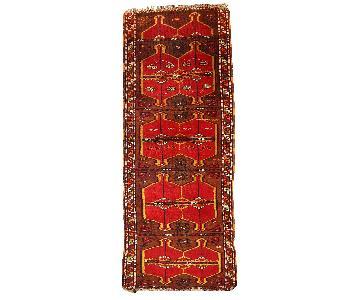 Antique Handmade Collectible Turkish Yastik Rug