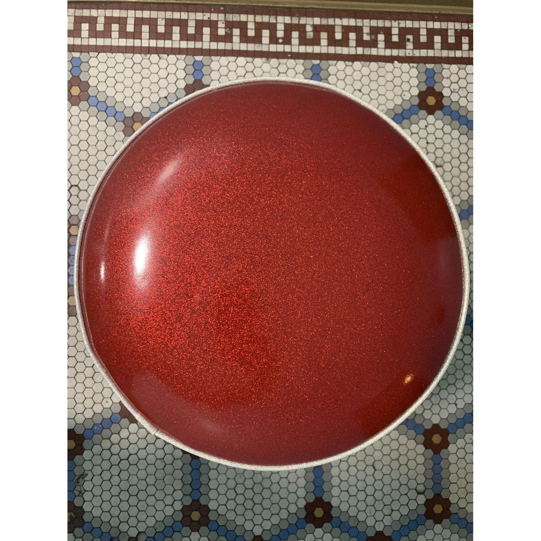 Retro Red Bar Stools - image-4