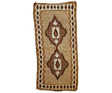 Antique Handmade Persian Ardabil Kilim Rug