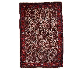Vintage Handmade Persian Malayer Rug