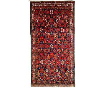 Antique Handmade Persian Malayer Runner Rug