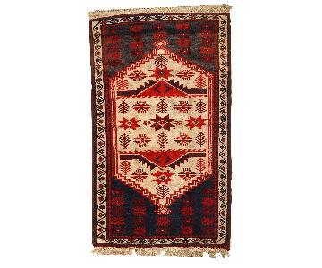 Vintage Handmade Turkish Anatolian Rug
