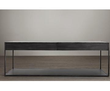 Restoration Hardware Gramercy Coffee Table