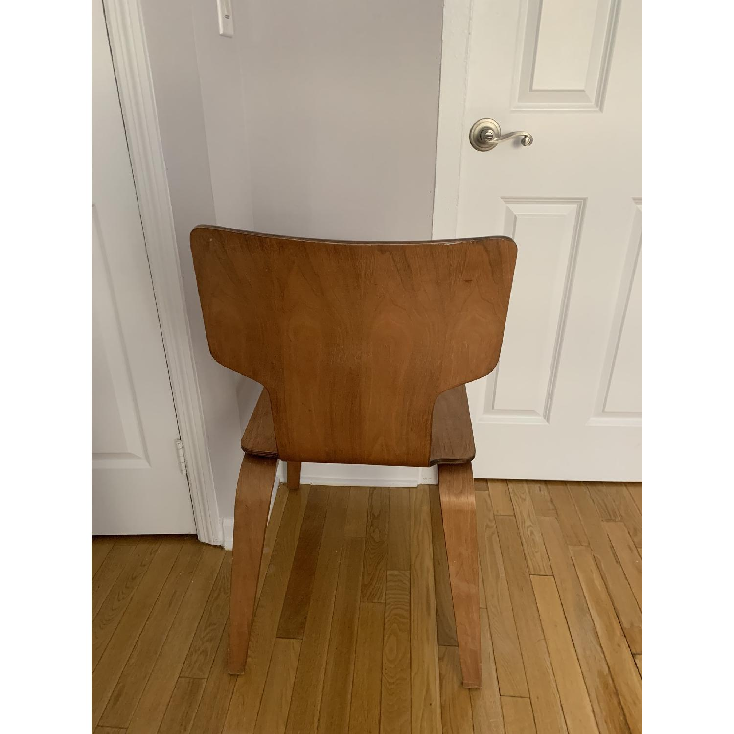 West Elm Stackable Dining Chair in Walnut - image-2
