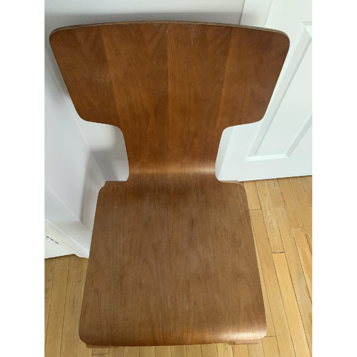 West Elm Stackable Dining Chair in Walnut - image-3