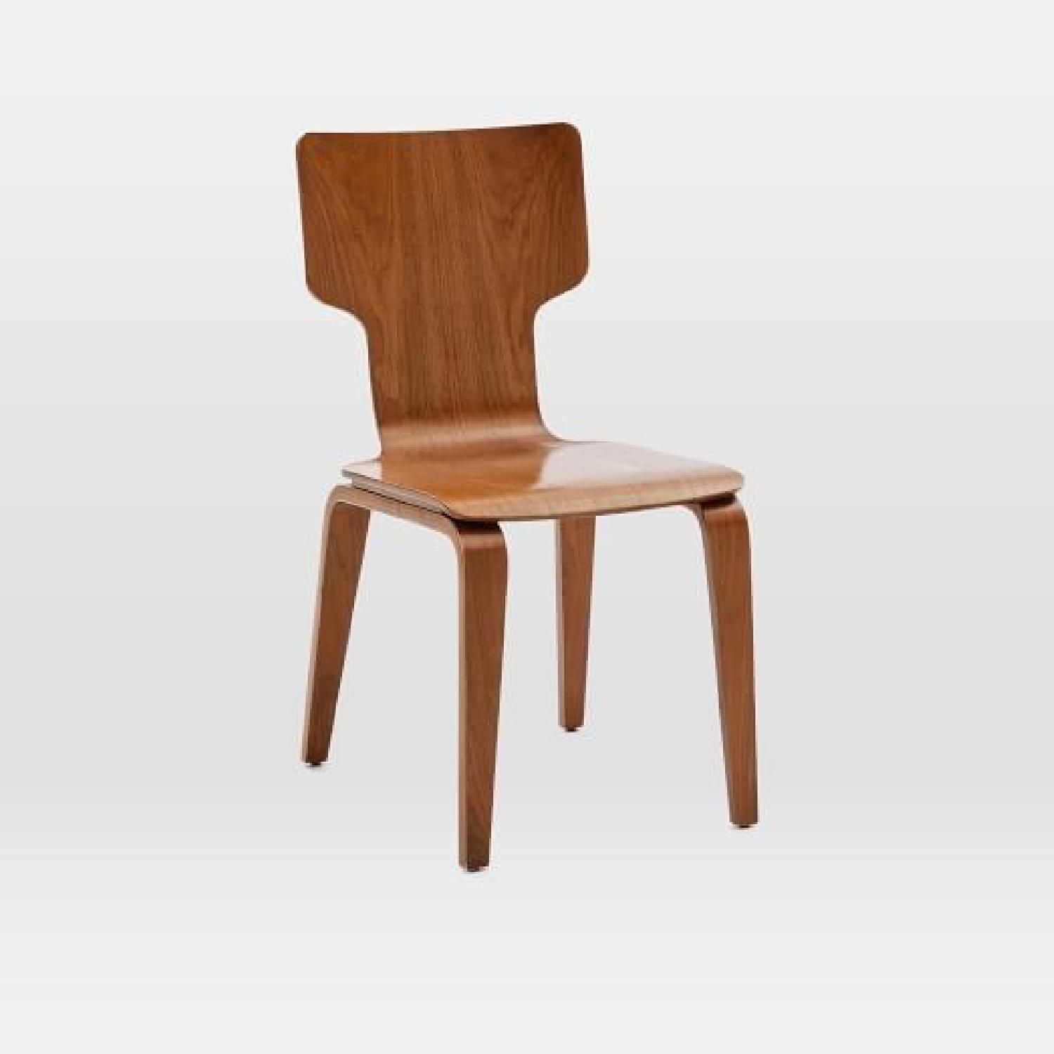 West Elm Stackable Dining Chair in Walnut - image-4
