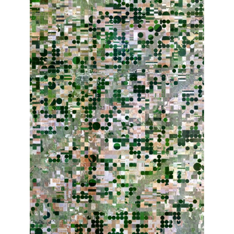 Benjamin Grant Kansas Pivot Irrigation Satellite Print - image-0