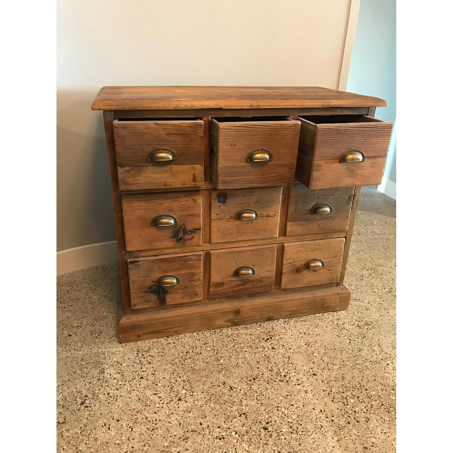 Crate & Barrel Bedford Apothecary Chest - image-5