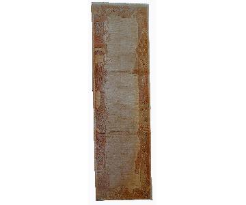 Handmade Vintage Tibetan Khaden Runner Rug