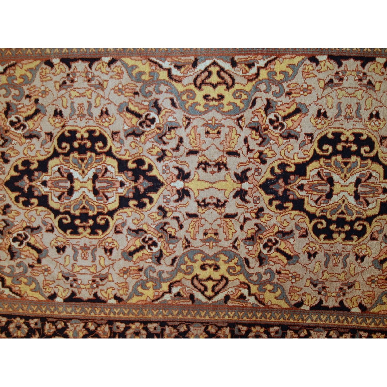 Vintage Handmade Pakistani Lahore Rug - image-7