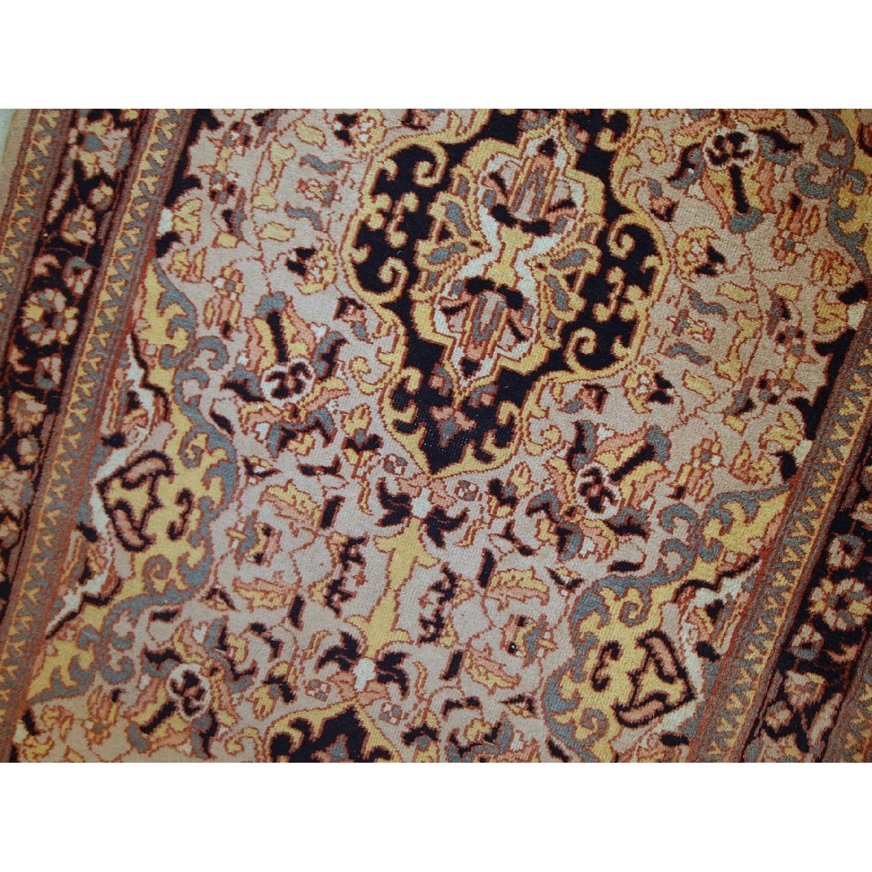 Vintage Handmade Pakistani Lahore Rug - image-10