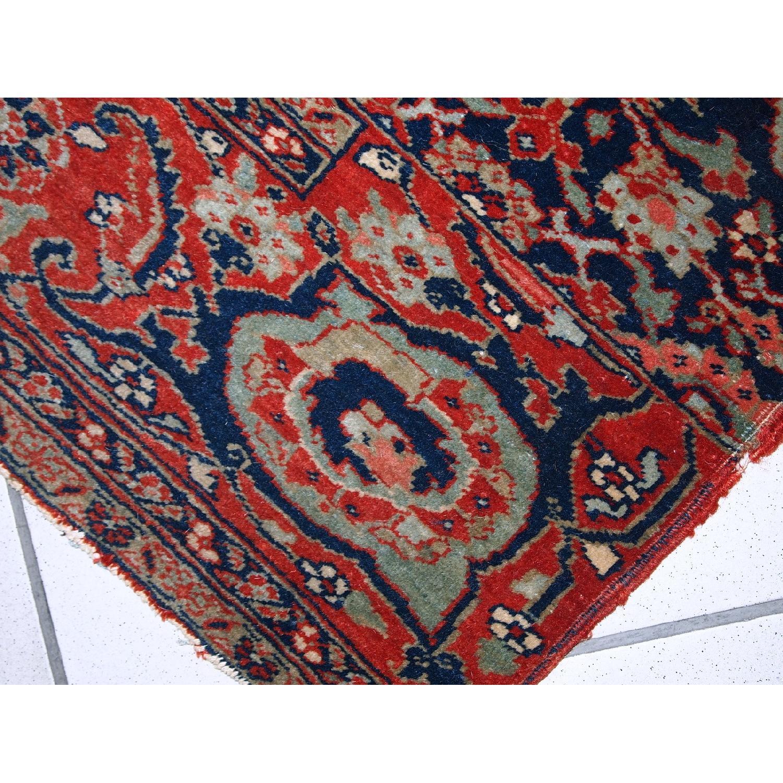Antique Handmade Persian Bidjar Vagireh Rug - image-2