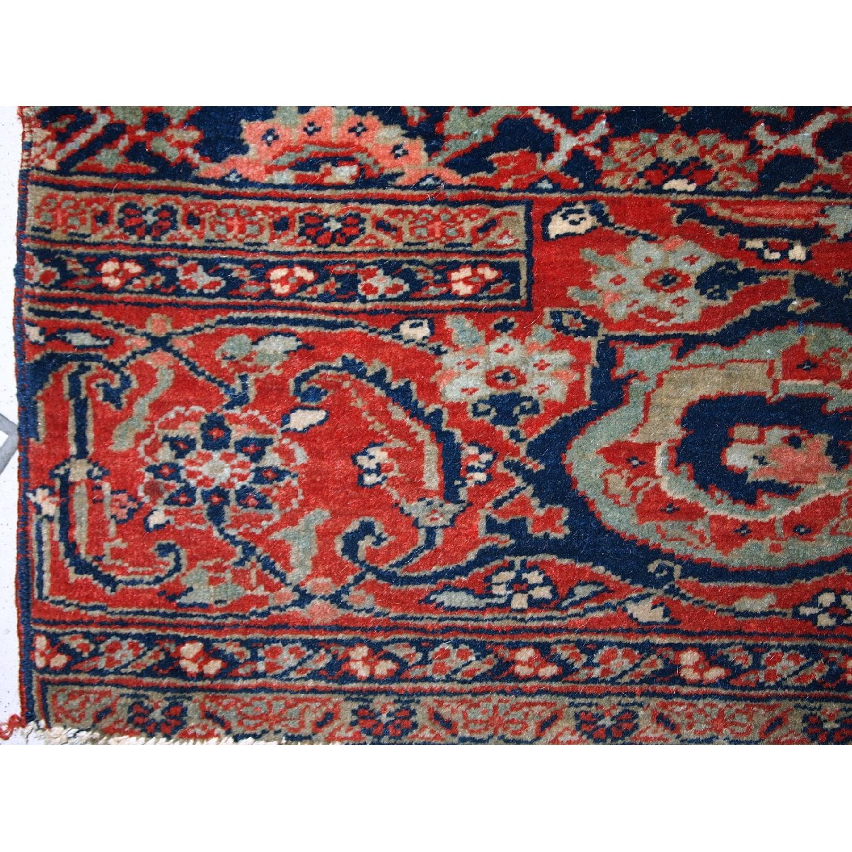 Antique Handmade Persian Bidjar Vagireh Rug - image-3