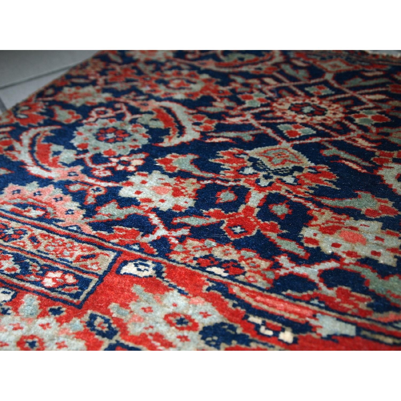 Antique Handmade Persian Bidjar Vagireh Rug - image-4
