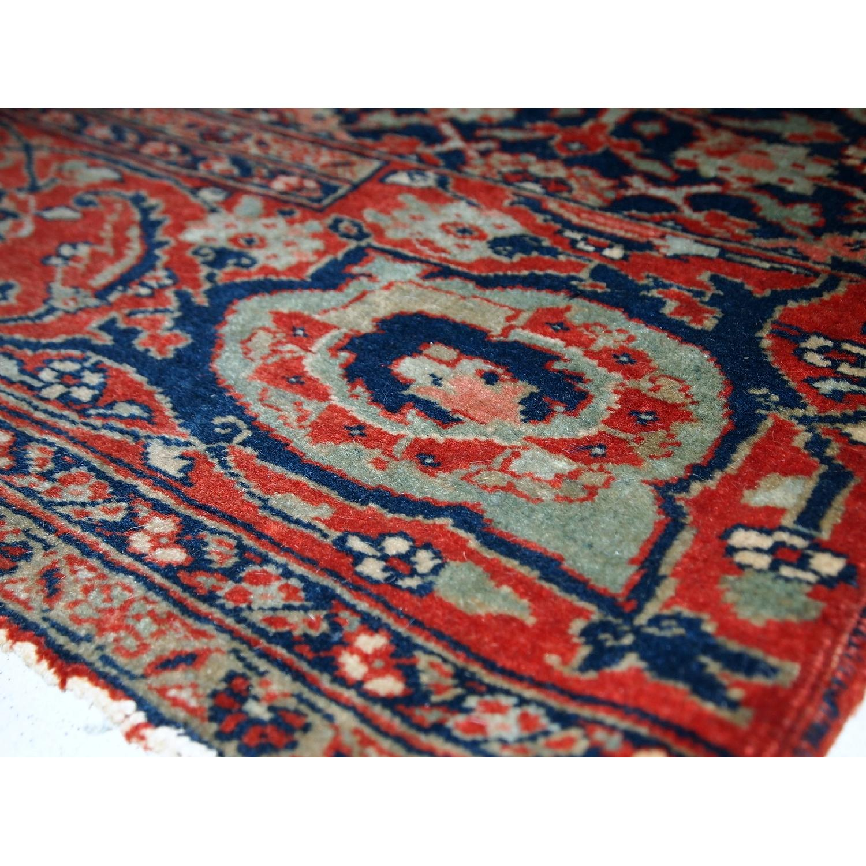 Antique Handmade Persian Bidjar Vagireh Rug - image-5
