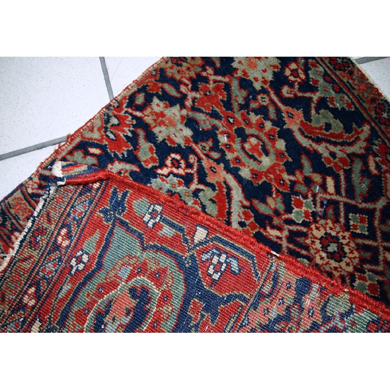 Antique Handmade Persian Bidjar Vagireh Rug - image-6