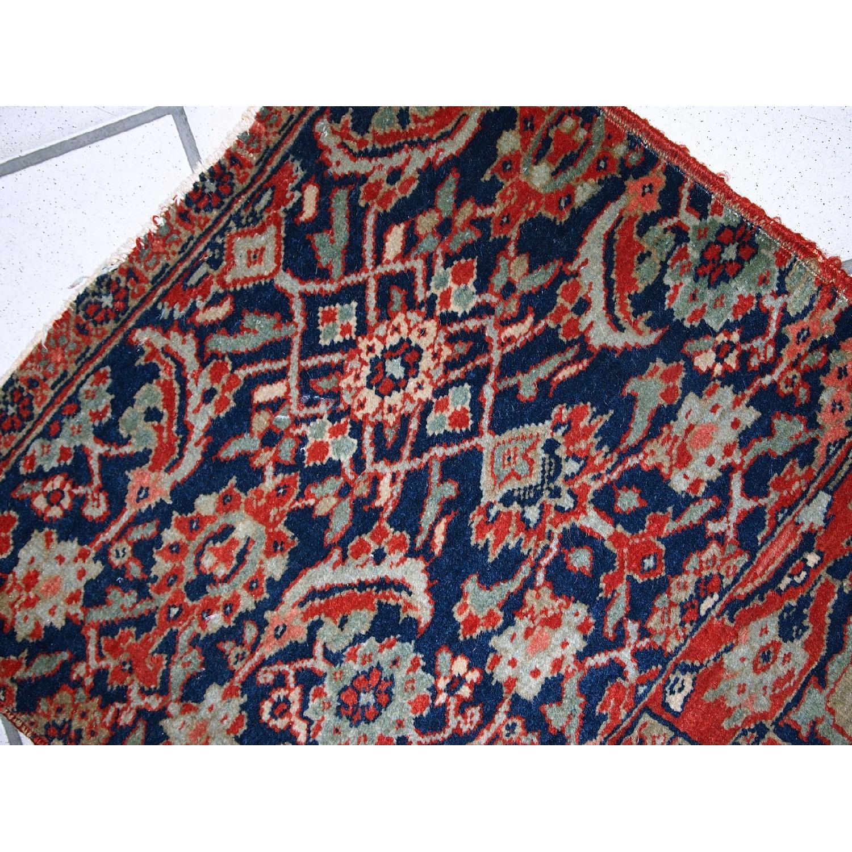 Antique Handmade Persian Bidjar Vagireh Rug - image-7
