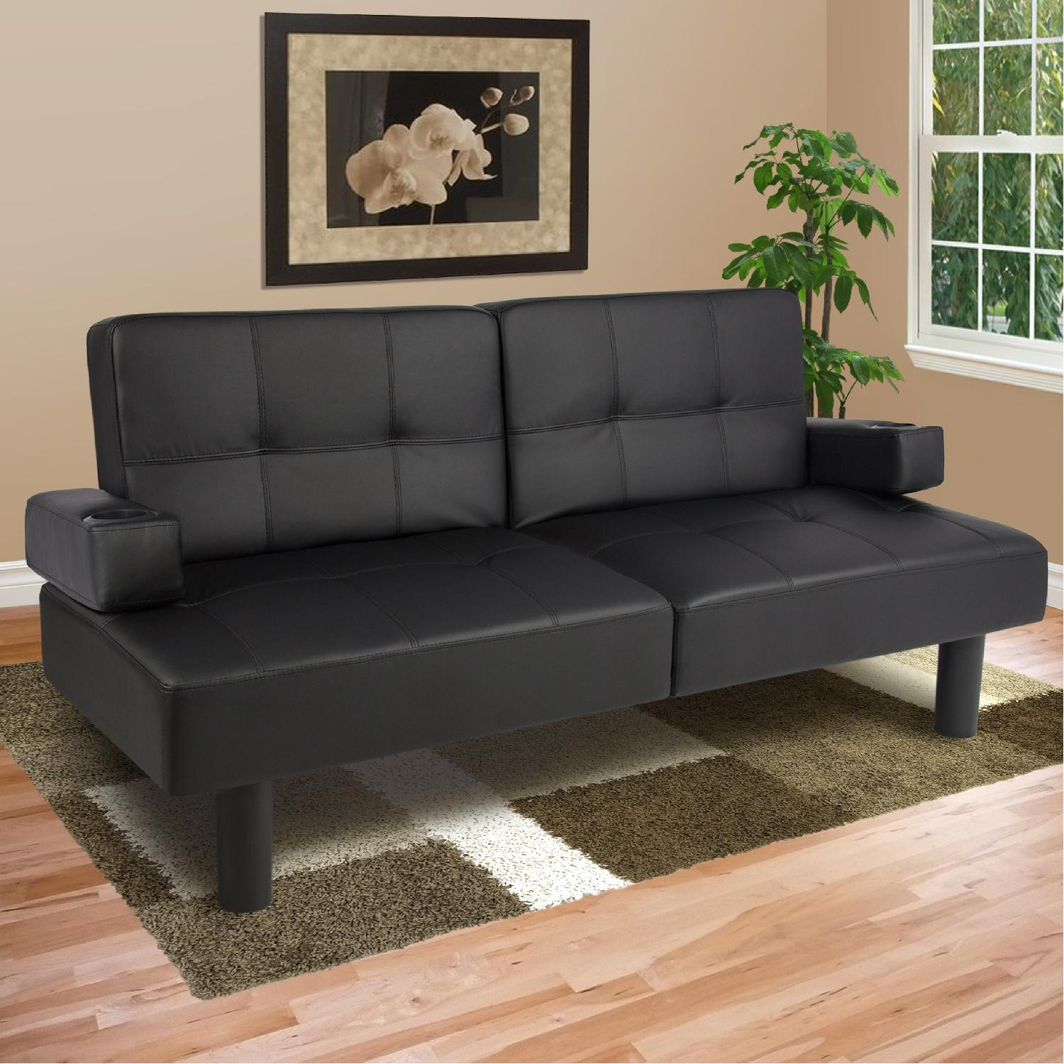 Amazing Structube Faux Leather Sofa Aptdeco Unemploymentrelief Wooden Chair Designs For Living Room Unemploymentrelieforg
