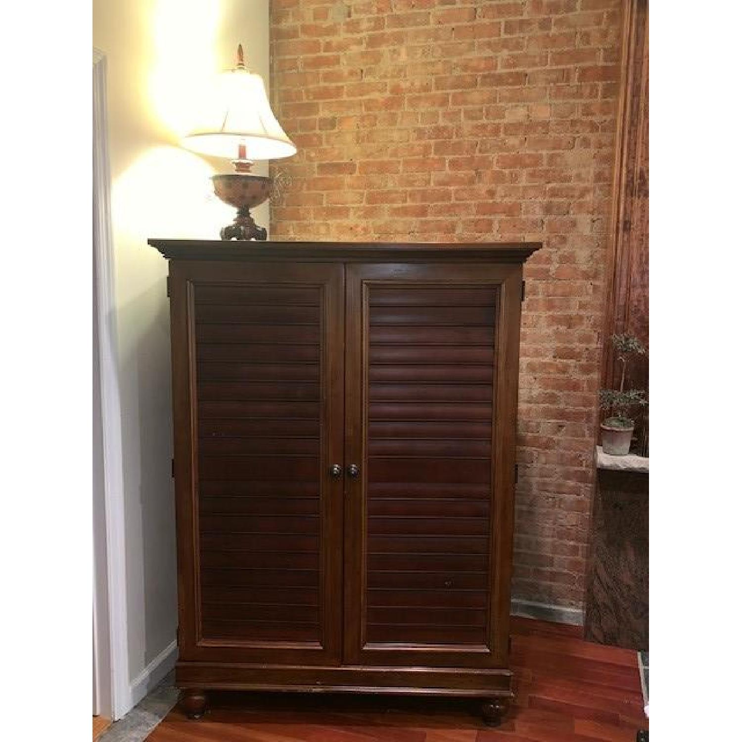 Hooker Furniture Media Cabinet/Armoire in Mahogany Finish - image-1