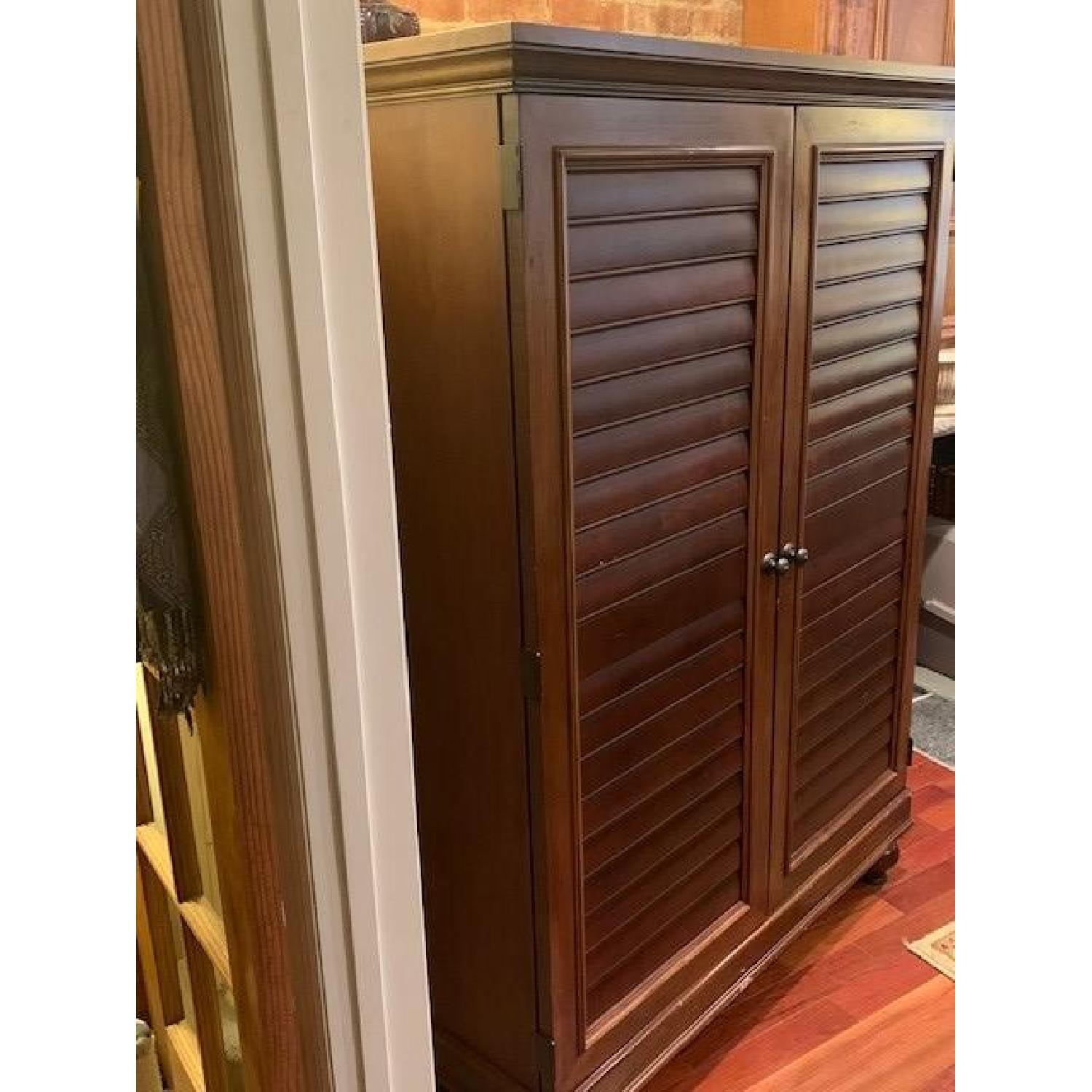 Hooker Furniture Media Cabinet/Armoire in Mahogany Finish - image-2