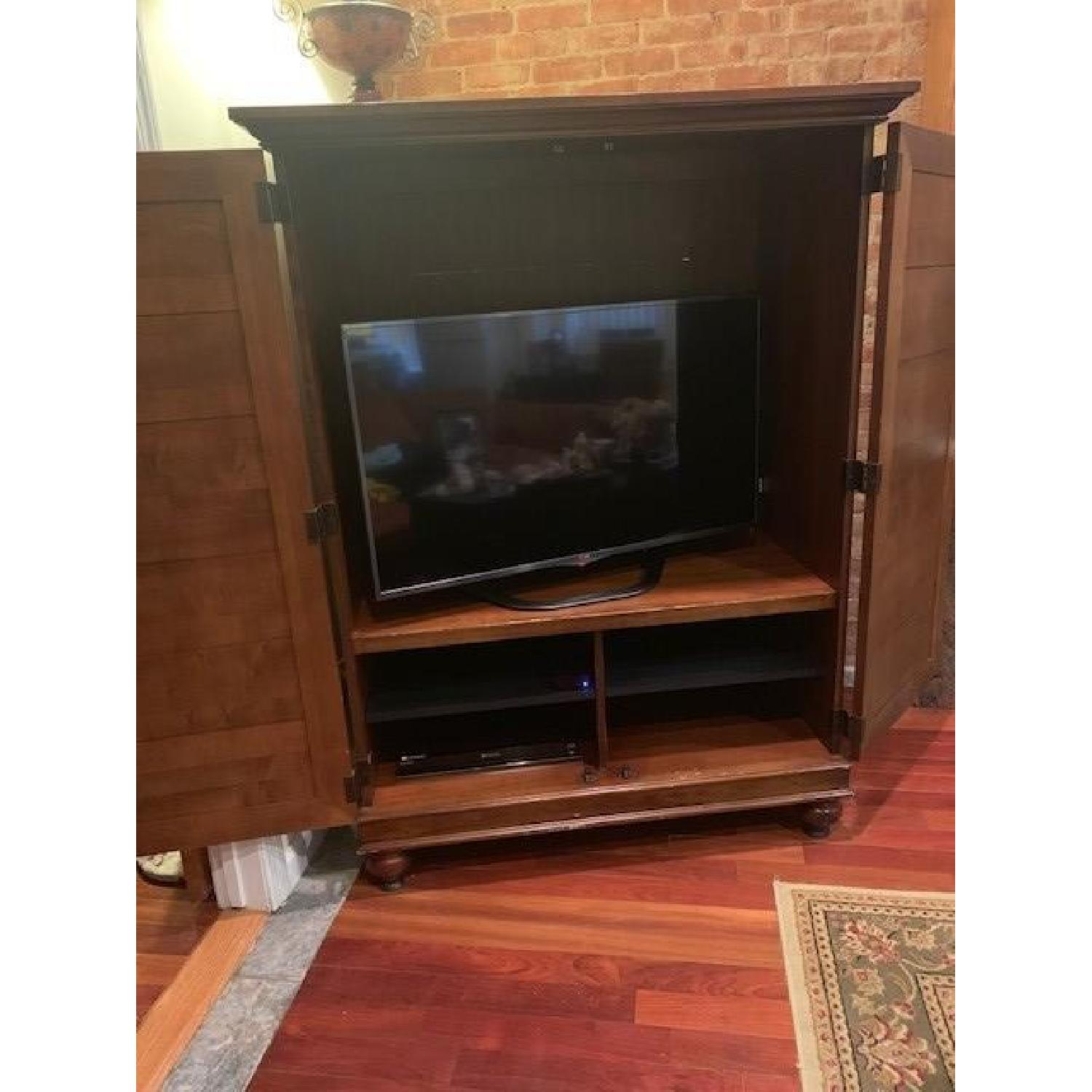 Hooker Furniture Media Cabinet/Armoire in Mahogany Finish - image-5
