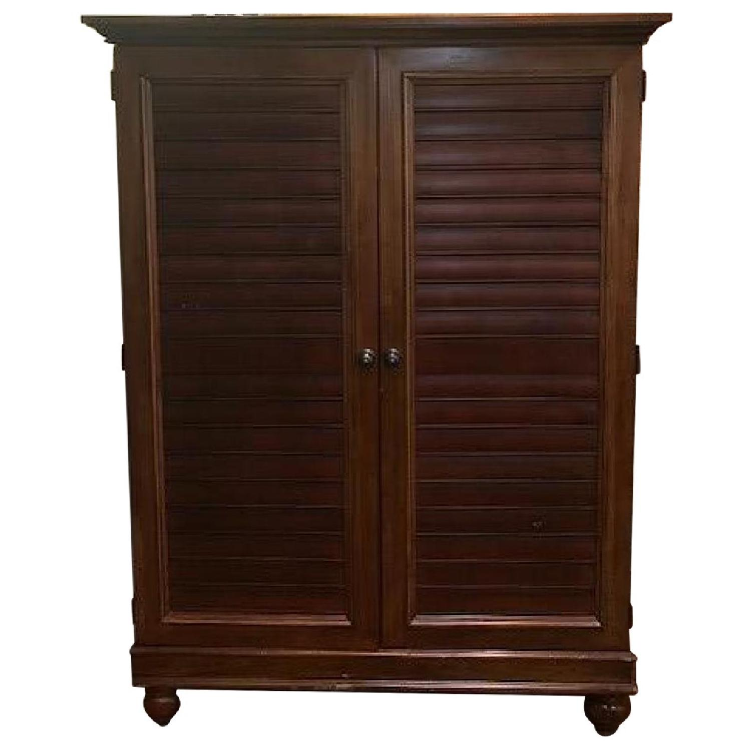 Hooker Furniture Media Cabinet/Armoire in Mahogany Finish - image-0