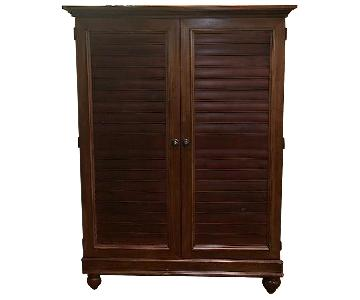 Hooker Furniture Media Cabinet/Armoire in Mahogany Finish