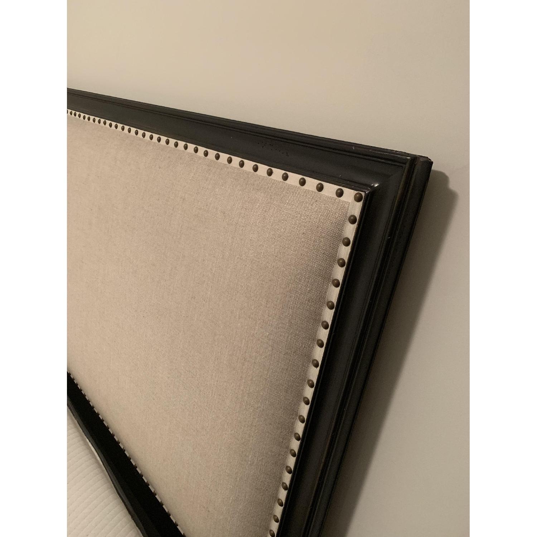 Restoration Hardware Maison Panel Fabric Queen Bed