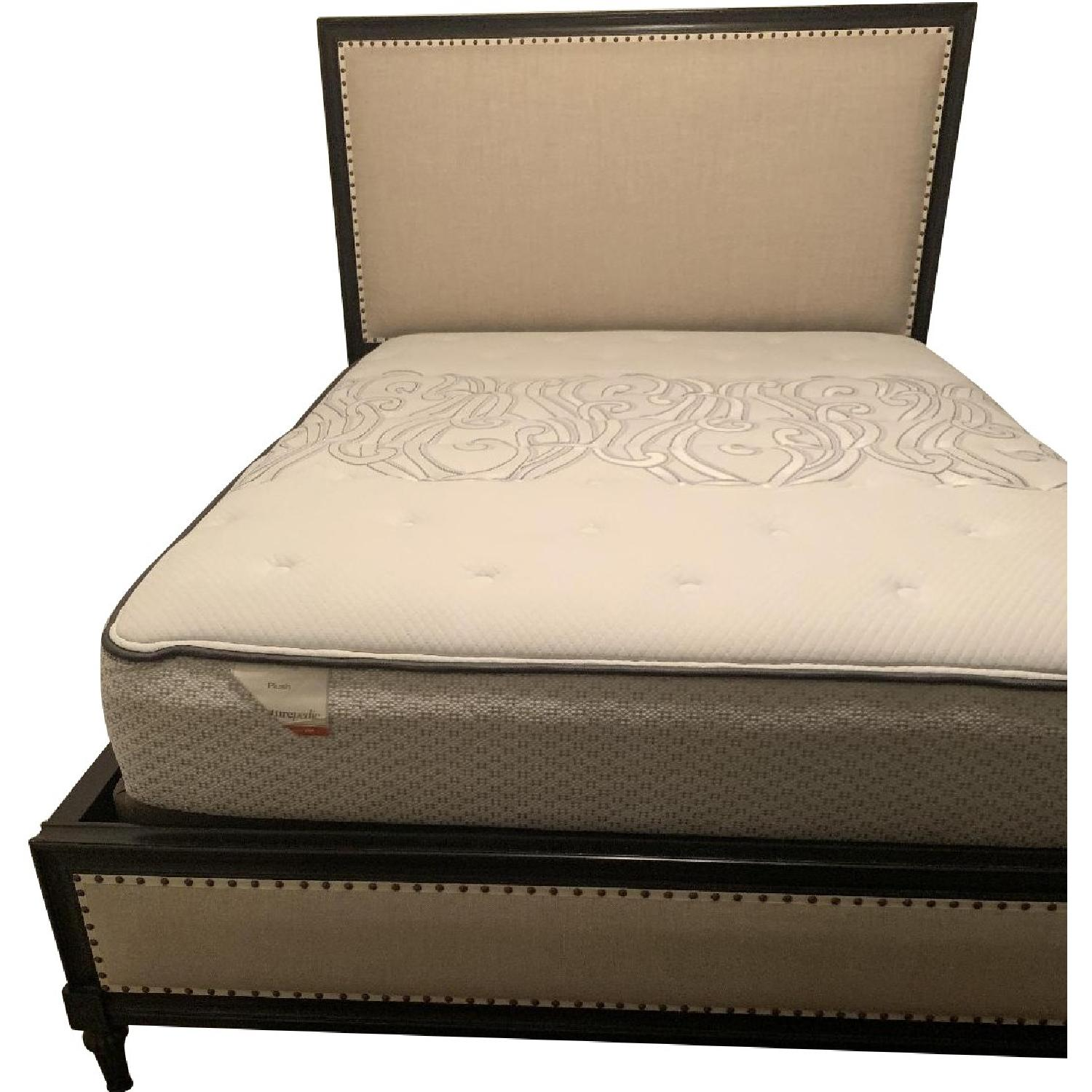 Restoration Hardware Maison Panel Fabric Queen Bed