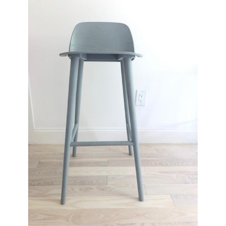 Muuto Nerd Grey Bar Stool - image-1