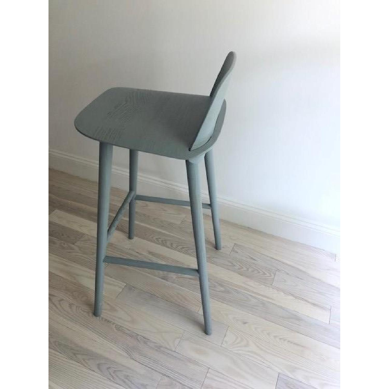 Muuto Nerd Grey Bar Stool - image-2