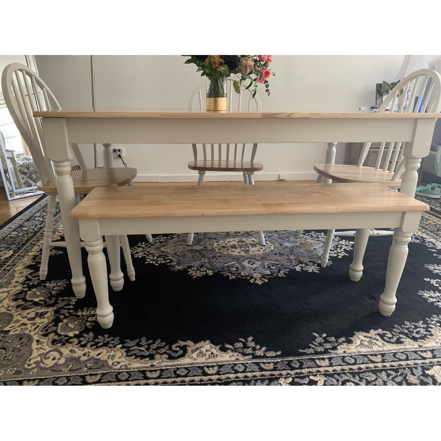 Better Homes & Gardens Dining Table w/ 1 Bench & 3 Chairs - image-1