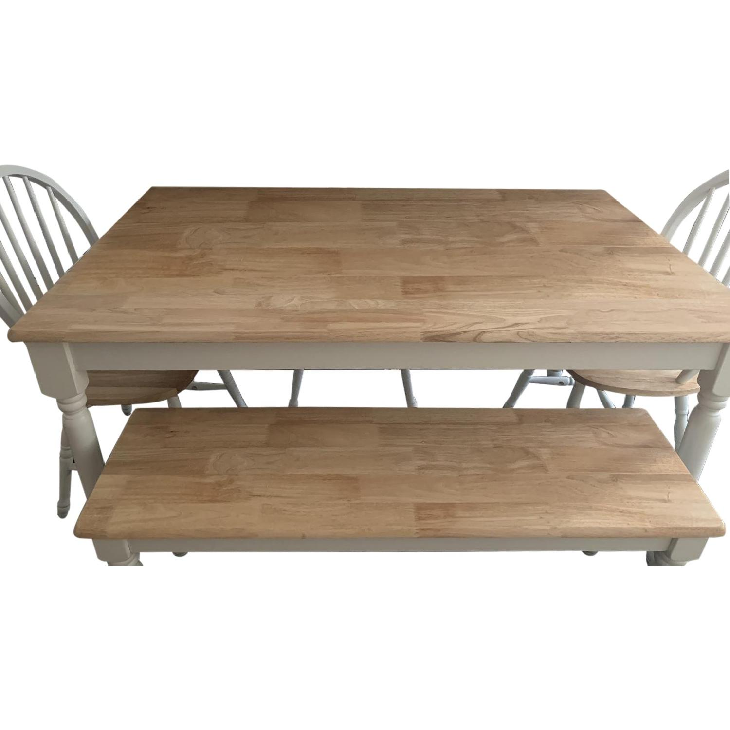 Better Homes & Gardens Dining Table w/ 1 Bench & 3 Chairs - image-0