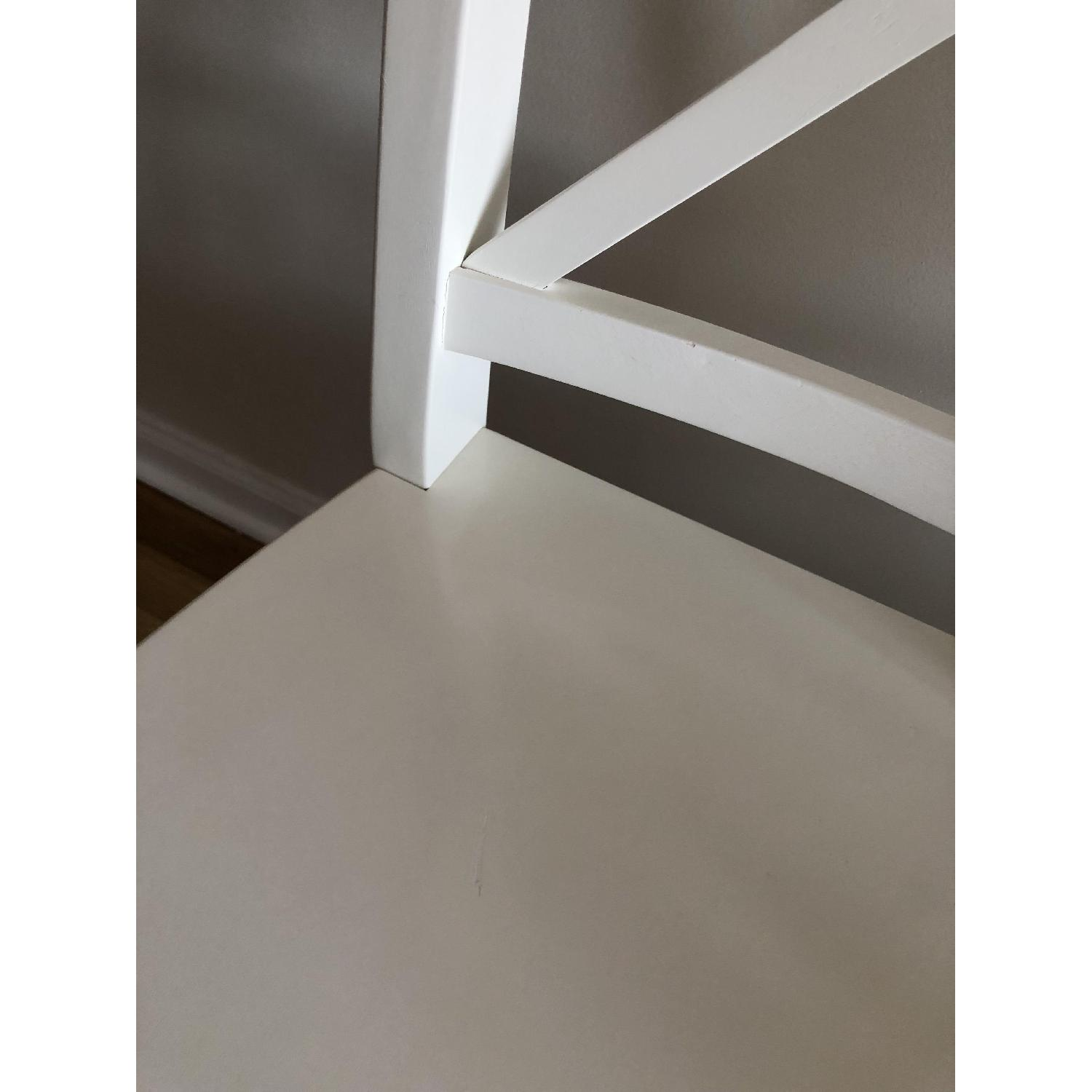 Ikea Ingolf White Dining Chairs - image-5