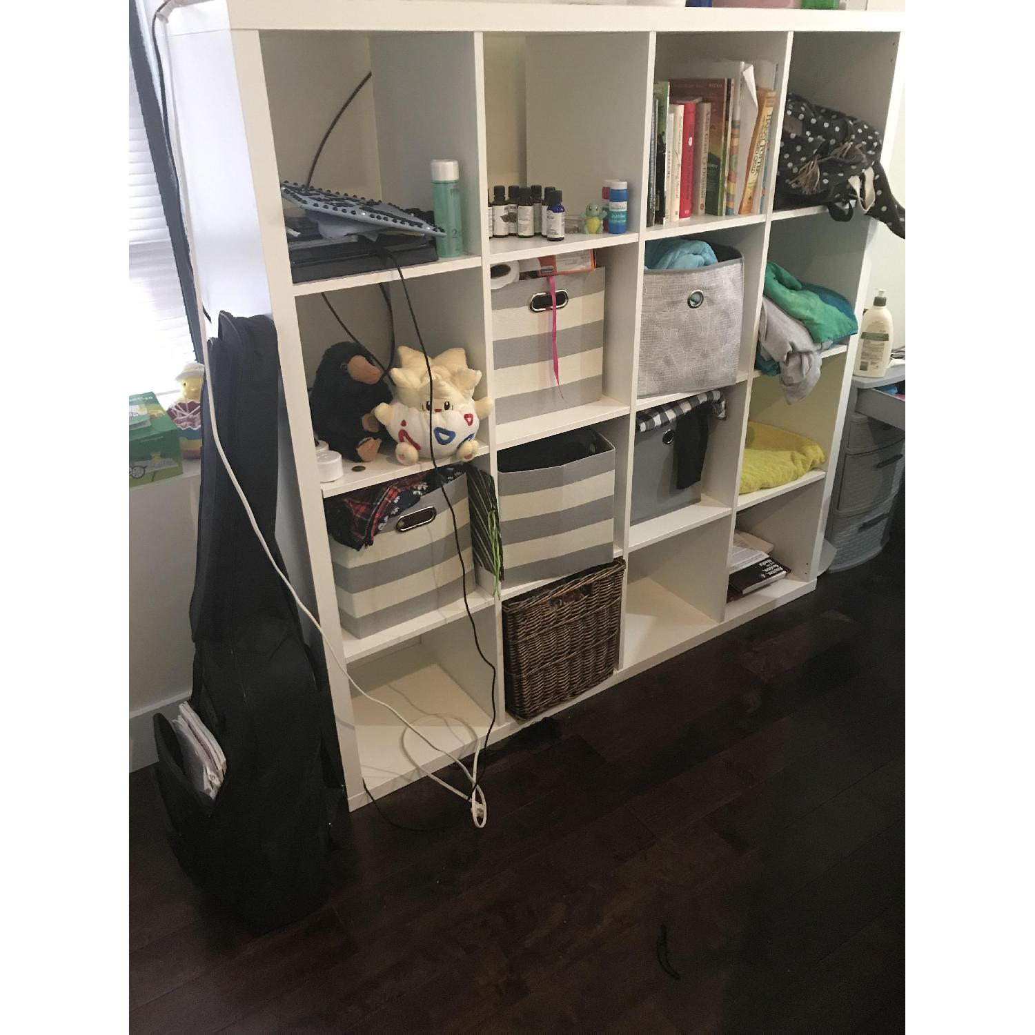 Ikea Kallax White Shelf Unit