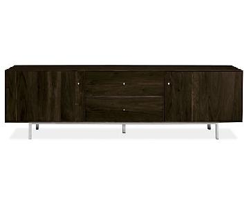 Room & Board Hudson Maple w/ Charcoal Stain Media Console