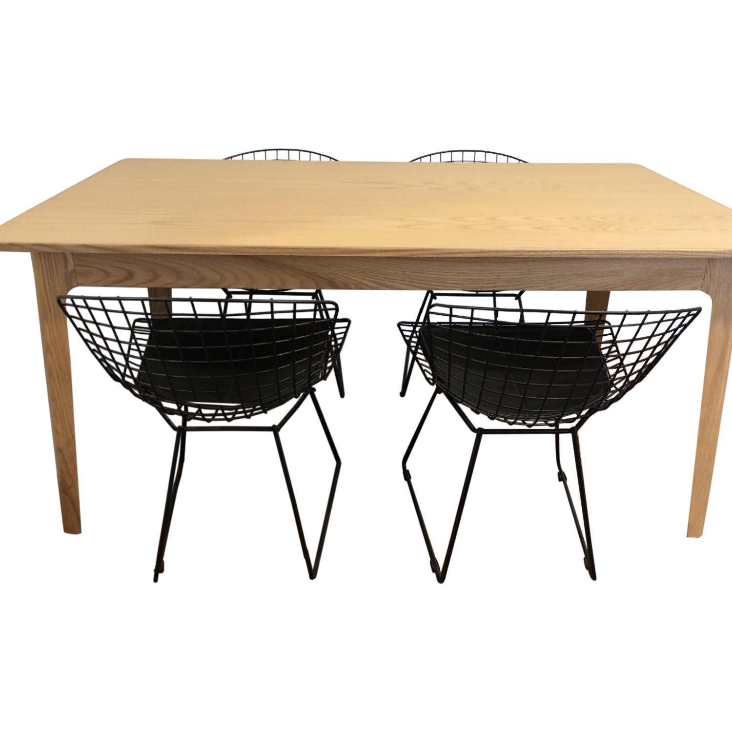 InMod Dining Table w/ 4 Chairs - image-0