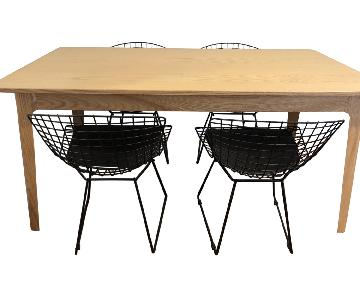 InMod Dining Table w/ 4 Chairs