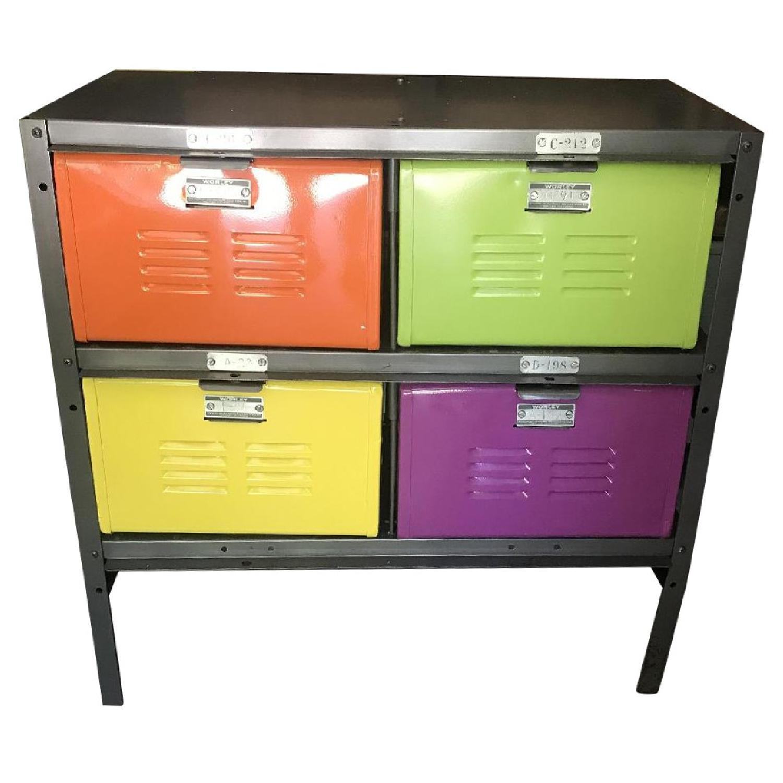 Giggle Metal Locker Cabinet - image-0